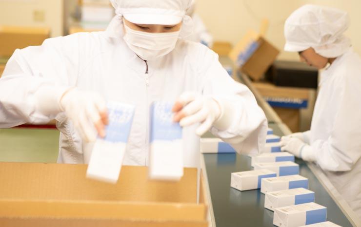 医薬部外品製造業(包装・表示・保管区分)